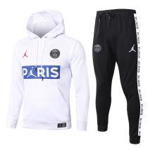 2020/21 PSG Paris Jordan White Hoodie Training Tracksuit