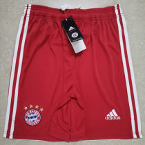 2020/21 Bayern Munich Home Red Shorts Pants