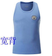 2020 Man City Blue Vest (宽背)