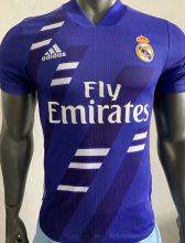 2020/21 RM Classic Blue Player Version Soccer Jersey