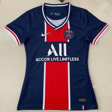 2020/21 PSG Paris Home Blue Women Soccer Jersey