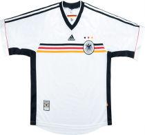 1998 Germany Home Retro Soccer Jersey