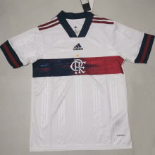 2020 Flamengo Away White Fans Soccer Jersey