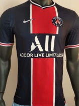 2020/21 PSG Home Player Version Soccer Jersey