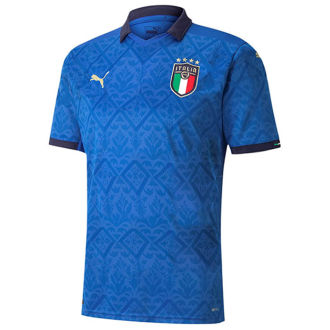 2020 Euro Italy Home 1:1 Quality Fans Soccer Jersey