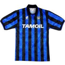 1991-92 Atalanta Home Retro Soccer Jersey