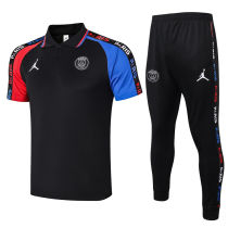 2020/21 PSG  Black Polo Tracksuit
