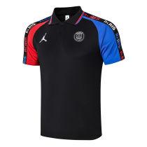 2020/21 PSG JD Black Polo Short Jersey