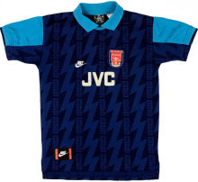 1994-95 Arsenal Away Retro Soccer Jersey
