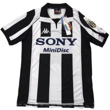 1997-1998 JUV Home Retro Fans Soccer Jersey