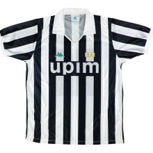 1991-1992 JUV Home Retro Soccer Jersey