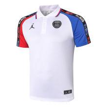 2020/21 PSG Paris Jordan White Polo Short Jersey