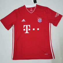 2020/21 Bayern 1:1 Quality Home Red Fans Soccer Jersey