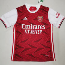 2020/21 Arsenal Home Red Fans Soccer Jersey
