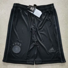 2020 Germany Black Shorts Pants