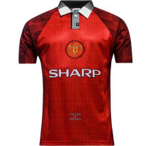 1996 Man Utdr Home Retro Soccer Jersey