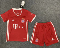 2020/21 Bayern Munich Home Red Kids Soccer Jersey