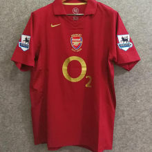 2005-2006 Arsenal Home Retro Soccer Jersey