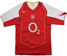 2004-2005 Arsenal Home Retro Soccer Jersey