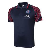 2020/21 PSG JD Blue Polo Short Jersey