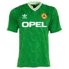 1990 Ireland Home Green Retro Soccer Jersey