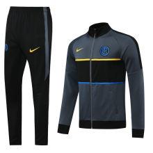 2020/21 Inter Milan Grey Jacket Tracksuit