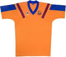 1992 BA Away Orange Retro Soccer Jersey