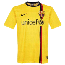 2008/09 BA Away Yellow  Retro Soccer Jersey