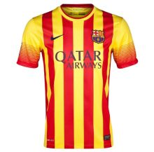 2013/14 BA Away Yellow  Retro Soccer Jersey(NO Patch)