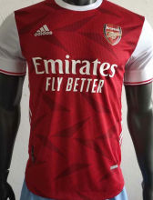 2020/21 Arsenal Home Red Palyer Version Soccer Jersey