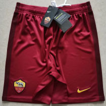 2020/21 AS RM Home Red Shorts Pants