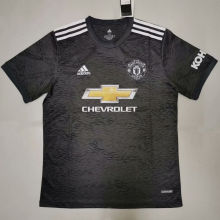 2020/21 Man Utd Away Black Fans Soccer Jersey