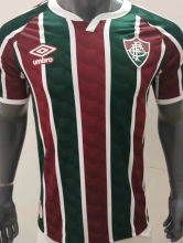 2020/21 Fluminense 1:1 Quality Home Fans Soccer Jersey
