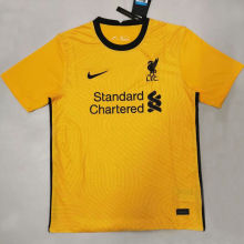 2020/21 Liverpool Yellow GK Fans Soccer Jersey