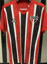 2020 Sao Paulo 1:1 Quality Away Fans Soccer Jersey