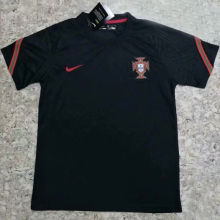 2020/21 Portugal Black Training Soccer Jersey