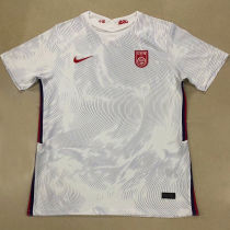 2020/21 China White Fans Soccer Jersey