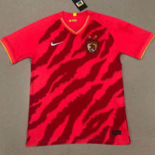 2020 Guangzhou Evergrande Home Red Fans Soccer Jersey(广州恒大)
