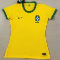 2020/21 Brazil Home Yellow Women Soccer Jersey