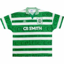 1995-1997 Celtic Home Retro Soccer Jersey