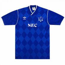 1987-1988 Everton Home Retro Soccer Jersey