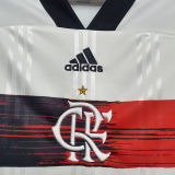 2020 Flamengo 1:1 Quality Away White Fans Soccer Jersey(Have MRV)