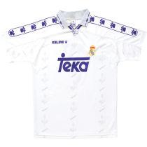 1994-1996 RM White Home Retro Soccer Jersey