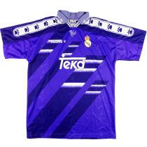 1994-1996 RM Blue Away Retro Soccer Jersey
