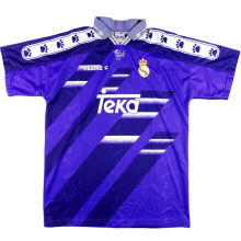 1994-1996 RM Blue Away Retro Soccer Jersey