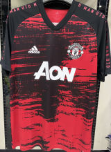 2020/21 Man Utd Red And Black Training Jersey