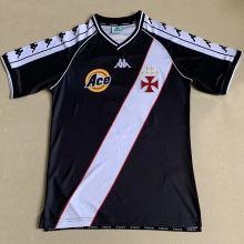 2000 Vasco Away Black Retro Soccer Jersey