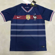 2020 France Home Blue Training Jersey