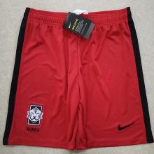 2020 South Korea Red Shorts Pants