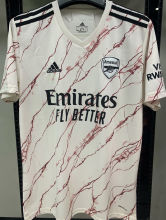 2020/21 Arsenal 1:1 Quality Away White Fans Soccer Jersey